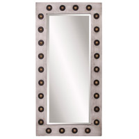Howard Elliott Collection 14283 Jax 48 X 24 inch Hand Painted Silver Wall Mirror, Rectangle, Large photo thumbnail