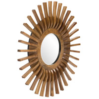 Howard Elliott Collection 14285 Carver 36 X 36 inch Wood Wall Mirror alternative photo thumbnail