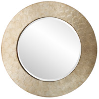 Howard Elliott Collection 14290 Camelot 36 X 36 inch Champagne Silver Wall Mirror