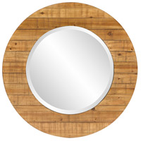 Howard Elliott Collection 14298 Kenwood 34 X 34 inch Natural Wood Wall Mirror