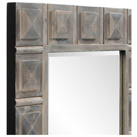 Howard Elliott Collection 14299 Dakota 42 X 30 inch Gray Stain Wall Mirror, Wood alternative photo thumbnail