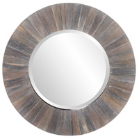Howard Elliott Collection 14301 Henley 18 X 18 inch Dark Rustic Wood Wall Mirror photo thumbnail