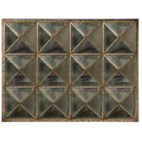 Howard Elliott Collection 17140 Quinn 49 X 37 inch Mottled Silver and Verde Wall Mirror, Rectangle alternative photo thumbnail