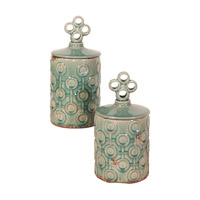 Signature Sea Blue Vase, Set of 2