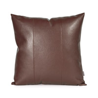 Howard Elliott Collection 2-192 Avanti 20 X 6 inch Deep Brown Pillow, Square photo thumbnail