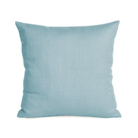 Howard Elliott Collection 2-200 Sterling 20 X 6 inch Light Blue Pillow, Square