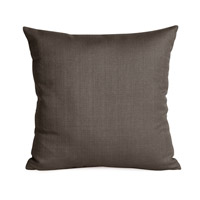 Sterling Charcoal Gray Pillow, Square