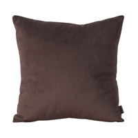 Howard Elliott Collection 2-220F Bella 20 X 6 inch Rich Brown Pillow, Square photo thumbnail