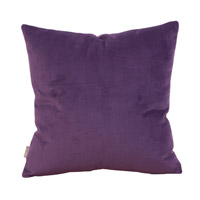 Howard Elliott Collection 2-223F Bella 20 X 6 inch Bold Purple Pillow, Square photo thumbnail