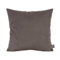 Howard Elliott Collection 2-225 Bella 20 X 6 inch Pewter Gray Pillow, Square photo thumbnail