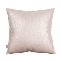 Howard Elliott Collection 2-239F Glam 20 X 6 inch Metallic Silver Pillow, Square photo thumbnail
