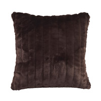 Howard Elliott Collection 2-285F Mink 20 X 6 inch Brown Pillow, Square photo thumbnail