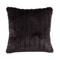 Howard Elliott Collection 2-286F Mink 20 X 6 inch Black Pillow, Square photo thumbnail