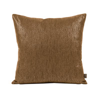 Howard Elliott Collection 2-293 Glam 20 X 6 inch Dark Chocolate Pillow, Square photo thumbnail