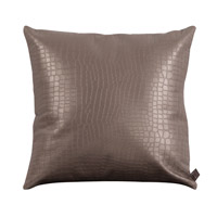 Howard Elliott Collection 2-470F Gator 20 X 6 inch Pewter Gray Pillow, Square photo thumbnail