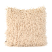 Howard Elliott Collection 2-531 Llama 20 X 6 inch White Faux Fur Pillow, Square photo thumbnail