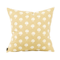 Howard Elliott Collection 2-612F Dandelion 20 inch Dandelion Citron Pillow, Square photo thumbnail