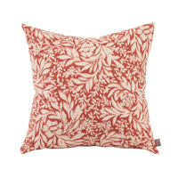 Iris 20 inch Iris Rust Pillow, Square