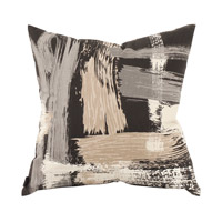 Signature 20 inch Urban Charcoal Pillow, Square