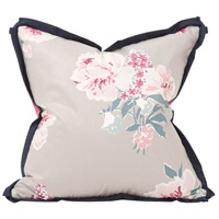 Howard Elliott Collection 2-668F Madcap Cottage 20 inch Isleboro Eve Indigo Pillow, with Down Insert photo thumbnail