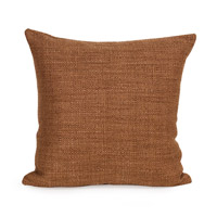Howard Elliott Collection 2-886F Coco 20 X 6 inch Terra Cotta Pillow, Square photo thumbnail
