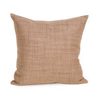 Howard Elliott Collection 2-888 Coco 20 X 6 inch Stone Brown Pillow, Square photo thumbnail