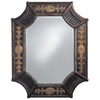 Howard Elliott Collection 2001 Orion 39 X 32 inch Deep French Brown Resin Wall Mirror, Rectangle photo thumbnail