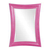 Howard Elliott Collection 2003HP Fairmont 45 X 34 inch Hot Pink Wall Mirror, Rectangle photo thumbnail