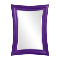 Howard Elliott Collection 2003RP Fairmont 45 X 34 inch Royal Purple Wall Mirror, Rectangle photo thumbnail