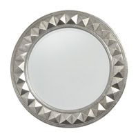 Howard Elliott Collection 2006N Fantasia 32 X 32 inch Nickel Wall Mirror, Round photo thumbnail