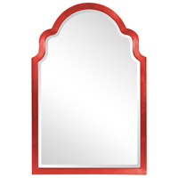 Howard Elliott Collection 20107R Sultan 36 X 24 inch Glossy Red Wall Mirror