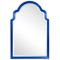 Howard Elliott Collection 20107RB Sultan 36 X 24 inch Glossy Royal Blue Wall Mirror