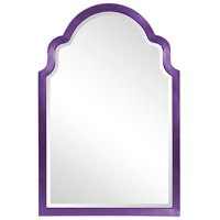 Howard Elliott Collection 20107RP Sultan 36 X 24 inch Glossy Royal Purple Wall Mirror