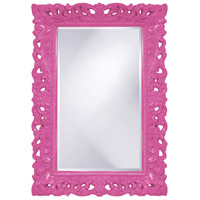 Howard Elliott Collection 2020HP Barcelona 46 X 32 inch Hot Pink Wall Mirror, Rectangle photo thumbnail