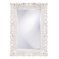 Howard Elliott Collection 2020W Barcelona 46 X 32 inch White Wall Mirror, Rectangle photo thumbnail