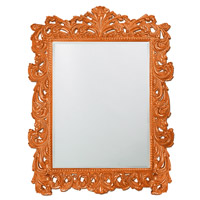 Howard Elliott Collection 2037XLO Napolean 85 X 65 inch Orange Wall Mirror, Rectangle photo thumbnail