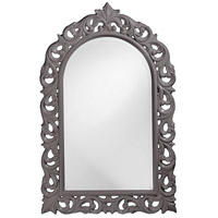 Howard Elliott Collection 2058CH Orleans 47 X 30 inch Charcoal Gray Wall Mirror, Rectangle photo thumbnail