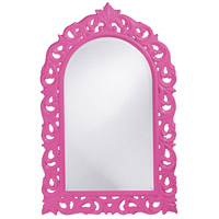 Howard Elliott Collection 2058HP Orleans 47 X 30 inch Hot Pink Wall Mirror, Rectangle photo thumbnail