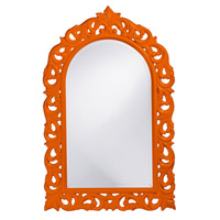 Howard Elliott Collection 2058O Orleans 47 X 30 inch Orange Wall Mirror, Rectangle photo thumbnail