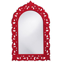 Howard Elliott Collection 2058R Orleans 47 X 30 inch Red Wall Mirror, Rectangle photo thumbnail