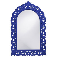 Howard Elliott Collection 2058RB Orleans 47 X 30 inch Royal Blue Wall Mirror, Rectangle photo thumbnail