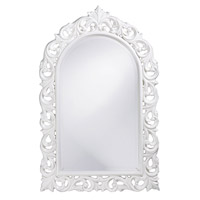 Howard Elliott Collection 2058W Orleans 47 X 30 inch White Wall Mirror, Rectangle photo thumbnail