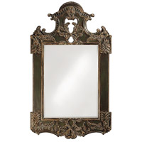 Howard Elliott Collection 2068XL Park Lane 94 X 64 inch Antique Black Wall Mirror, Rectangle photo thumbnail