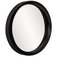 Howard Elliott Collection 2070BL Ellipse 39 X 35 inch Black Wall Mirror, Round alternative photo thumbnail