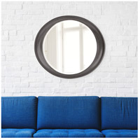 Howard Elliott Collection 2070CH Ellipse 39 X 35 inch Glossy Charcoal Wall Mirror alternative photo thumbnail