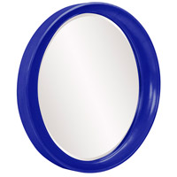 Howard Elliott Collection 2070RB Ellipse 39 X 35 inch Royal Blue Wall Mirror, Round alternative photo thumbnail