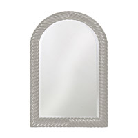 Howard Elliott Collection 2107N Montreal 40 X 26 inch Nickel Wall Mirror, Rectangle photo thumbnail