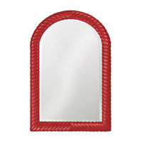 Howard Elliott Collection 2107R Montreal 40 X 26 inch Red Wall Mirror, Rectangle photo thumbnail