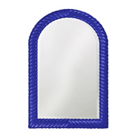 Howard Elliott Collection 2107RB Montreal 40 X 26 inch Royal Blue Wall Mirror, Rectangle photo thumbnail