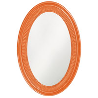 Howard Elliott Collection 2110O Ethan 31 X 21 inch Glossy Orange Wall Mirror photo thumbnail